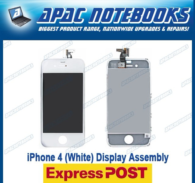NEW-Apple-iPhone-4-4G-A1332-LCD-White-Touch-Screen-Digitizer-Glass-Assembly